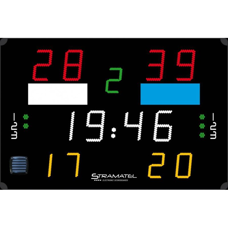 WATERPOLO SCOREBOARD 1500 x 1000 (Penalties)