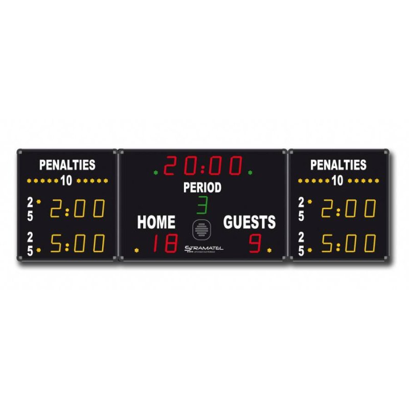 ICE HOCKEY SCOREBOARD 3300 x 1000 mm