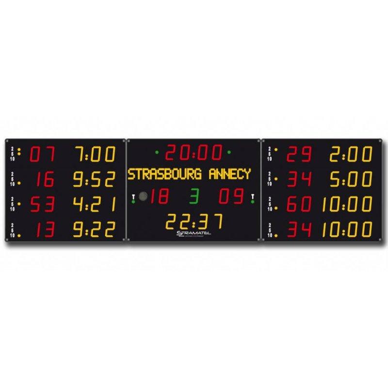 HOCKEY SCOREBOARD 5300 x 1300 (Team names)