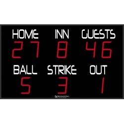 BASEBALL SCOREBOARD 190 x...