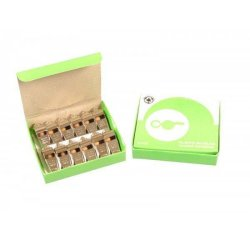 12 METAL WHISTLES BOX