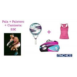 PALA PÁDEL + PALETERO +...
