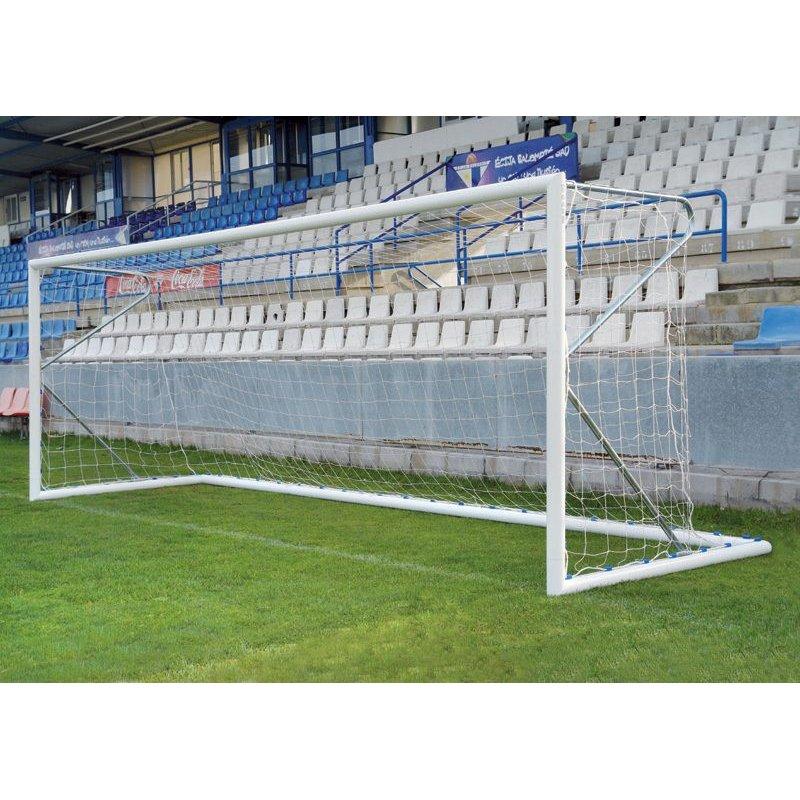 ALUMINIUM FREESTANDING FOOTBALL GOALS f7