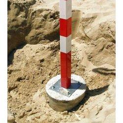 ALUMINIUM HANDBALL BEACH GOAL POSTS