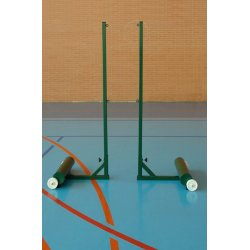 STEEL PORTABLE BADMINTON POSTS