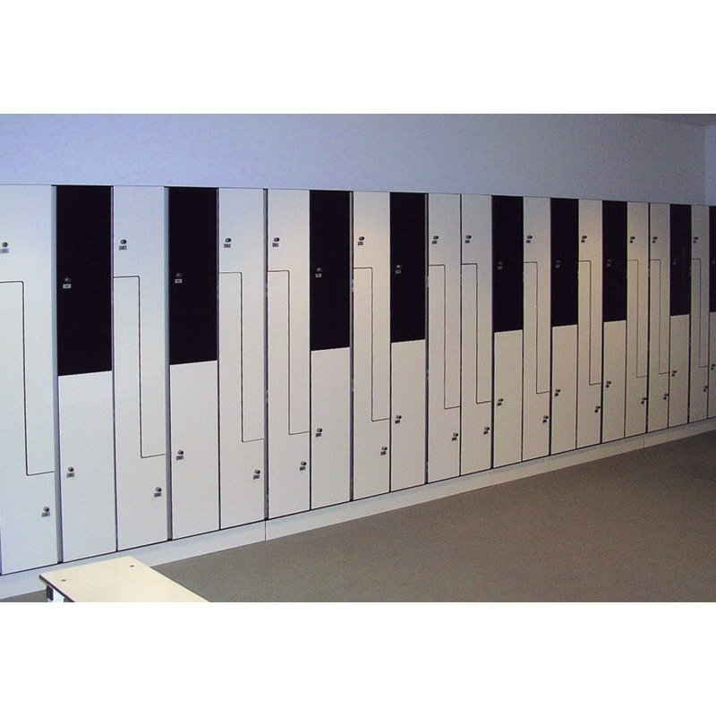 SOIL GRADE LAMINATE LOCKERS