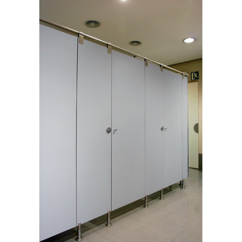 SOIL GRADE LAMINATE CUBICLES