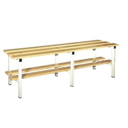 WOODEN CHANGING ROOM BENCH