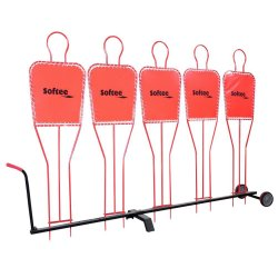 FOOTBALL MANNEQUIN TROLLEY...