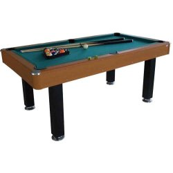 WOOD POOL TABLE HOME