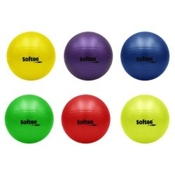 RUGGED BALL - BLUE/ RED/ YELLOW