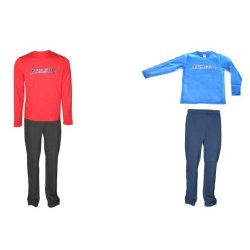 CHILD RED/ BLUE TRACKSUIT