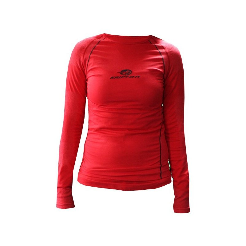 WOMENS THERMAL SHIRT - RED