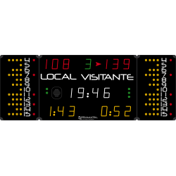 MULTISPORT SCOREBOARD 2700 x 1000 (Handball penalties)