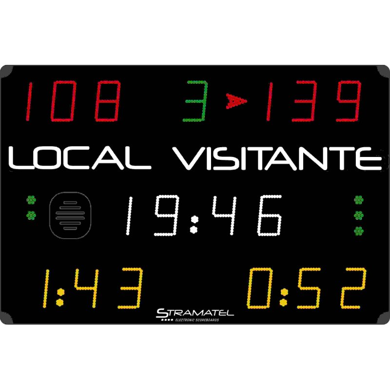 MULTISPORT SCOREBOARD 1500 x 1000 (Handball penalties)