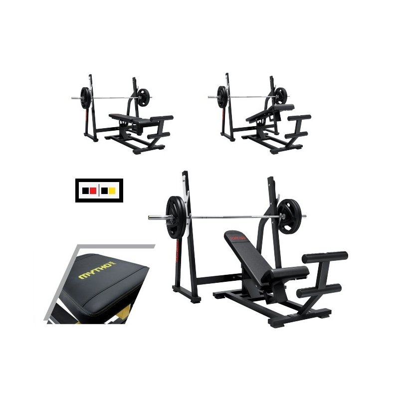 MUSCLE-BUILDING TOTAL PRESS BENCH