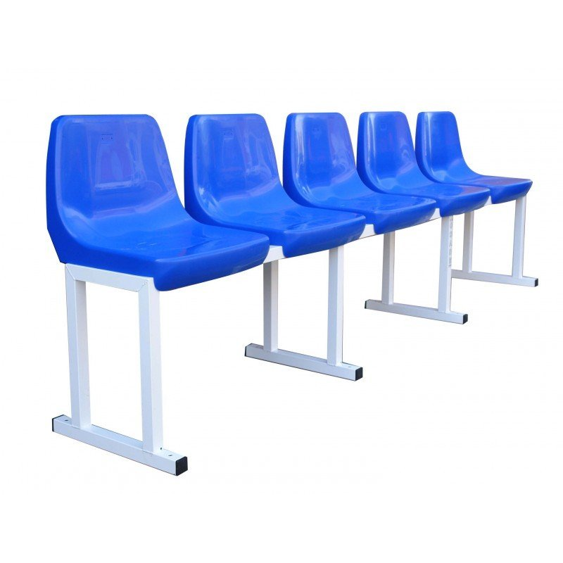 PLAYERS BENCH, 5 SEATS