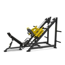 INCLINE LEG PRESS WITH PLATES