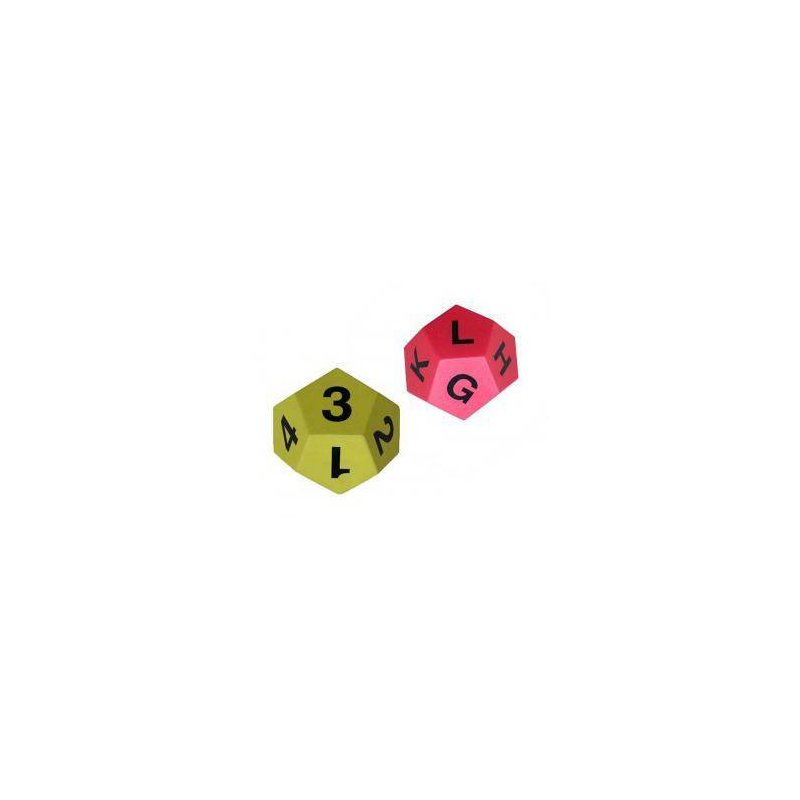 NUMBERS/ LETTERS FOAM DICES