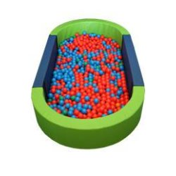 LARGE BALL POOL - OVAL