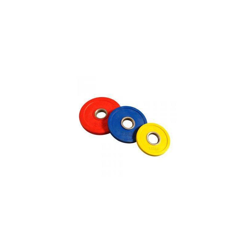 DISCOS DE CAUCHO OLÍMPICOS 1.25- 5 kg