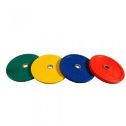 OLYMPIC RUBBER DISCS 10- 25 kg