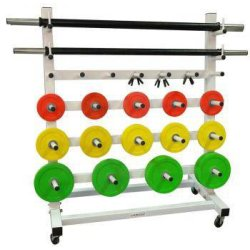SOPORTE PARA BARRAS BODY-WEIGHT
