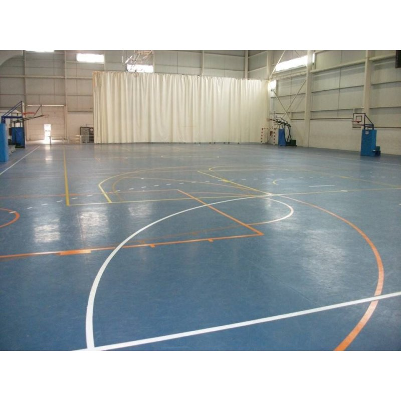 FLOORS FOR HALLS AND GYMS