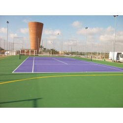 FLOORING FOR TENNIS COURTS