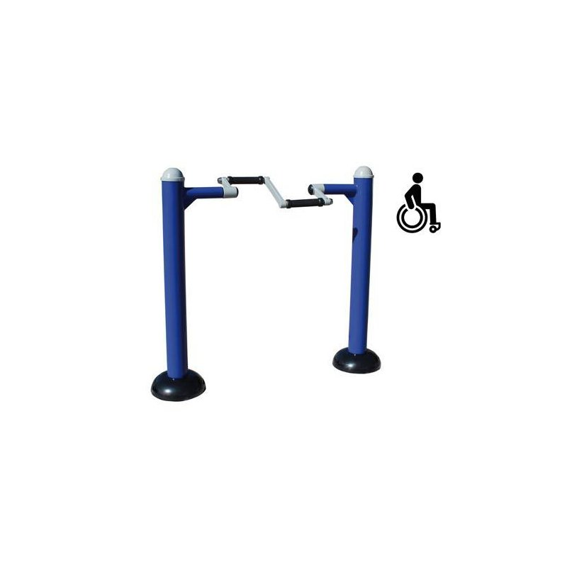 OUTDOOR EXERCISE DEVICE - WHEELCHAIR