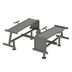 OUTDOOR EXERCISE DEVICE - ABDOMINAL CURL BENCH