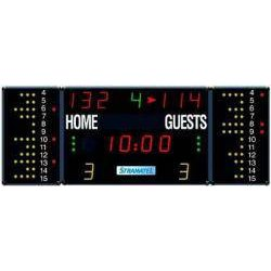 MULTISPORT SCOREBOARD 2700 x 1000 mm