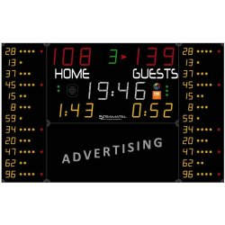 MULTISPORT SCOREBOARD 3204 x 2000 mm